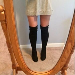 Shoes - Like New- Thigh High Boots
